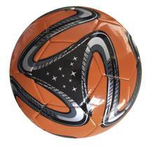 Bola de Futebol - Laranja e Preta - DTC -