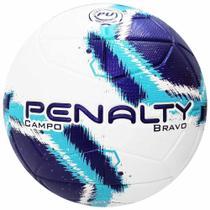 Bola de Futebol Penalty Bravo Campo Azul -