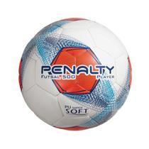 Bola de Futsal 500 Laranja Azul Player Penalty -
