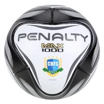 Bola de Futsal Penalty Max 1000 All Black - Edição Limitada -
