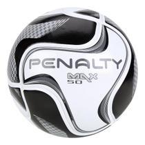 Bola de Futsal Penalty Max 50 All Black - Edição Limitada -