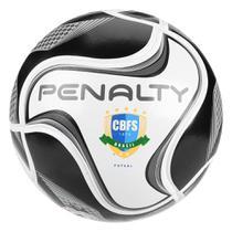 Bola de Futsal Penalty Max 500 All Black - Edição Limitada -
