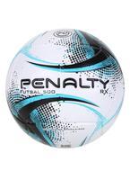 Bola De Futsal Penalty Rx 500 Xxi - Branco E Azul -