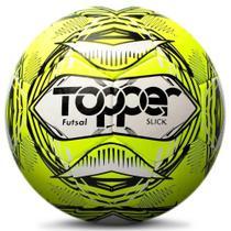 Bola de Futsal Topper SLICK III Costurada Amarela -
