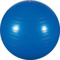 Bola de Ginástica 55cm para Pilates e Yoga Azul Mor -