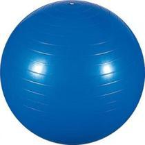 Bola de Ginástica 65cm para Pilates e Yoga Azul Com Bomba - Mor