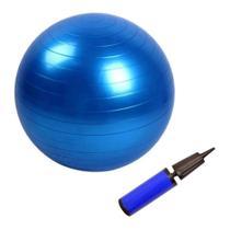 Bola de Ginástica 65cm Suiça para Yoga e Pilates com Bomba de Mão - Omnii Fast