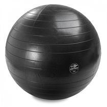 Bola de Ginástica Emborrachada Mormaii Fitness Gym Ball Anti-Burst 75cm Preto - Bel Fix