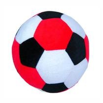 Bola de Pelúcia - Vermelho, Branco e Preto - 313 Toys -