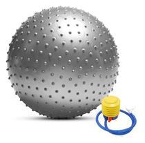 Bola De Pilates 65cm Gymball Com Bomba De Ar Spike - Mb Fit