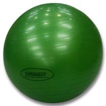 Bola de Pilates 75 cm Verde c/ Bomba Supermedy -