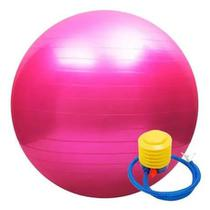 Bola De Pilates 75cm Yoga Ginástica Suíça Gym Exercícios - Oem
