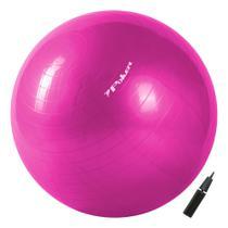 Bola de Pilates Suiça Gym Ball com Bomba de Ar - 55cm 09092 - Poker