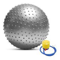 Bola de Pilates, Yoga Spike Gymball com Bomba de Ar - Mb Tech