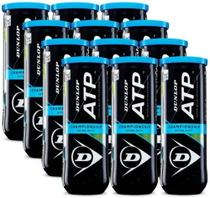 Bola De Tênis Dunlop Atp Championship - Pack Com 12 Tubos -