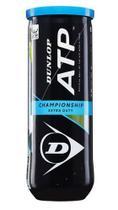 Bola de Tênis Dunlop Championship ATP Tubo com 03 Unidades -