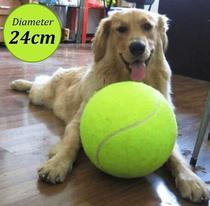 Bola De Tênis Gigante Brinquedo Cachorro Estimação 24 Cm - Hashtag Descubra