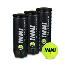 Bola De Tênis Inni Tournament Pack c/ 3 Tubos -