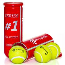 Bola de Tênis Premium AX Esportes Tubo com 3 - Oa372 -
