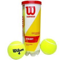 Bola de Tênis Wilson Championship Extra Duty  Tubo 3 bolas -