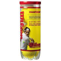 Bola De Tenis Wilson Championship - Pack 03 Bolas - 01 Tubo -