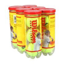 Bola de Tênis Wilson Championship Pack com 6 Tubos -