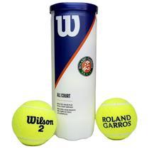 Bola de Tênis Wilson Roland Garros All Court tubo 3 bolas -