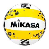 Bola de Vôlei de Praia Mikasa Peace VXS-ZB Amarela -
