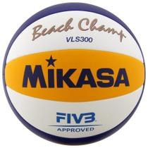 Bola de Vôlei de Praia Mikasa VLS300 FIVB Oficial de Jogo -