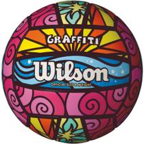 d2a88b443c Bola De Volei Graffiti Colorida Wilson