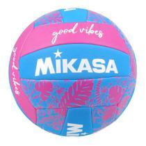 Bola de Vôlei Mikasa Quadra Good Vibes Lazer -