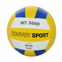 Bola de Vôlei Oficial PVC MT3600 Azul/Amarelo Yins -