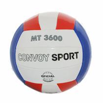 Bola de Vôlei Oficial PVC MT3600 Azul/Vermelho Yins -