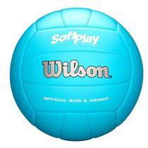 Bola de Vôlei Soft Play Azul - Wilson -