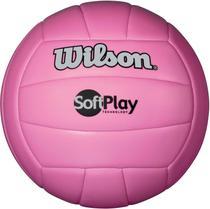 b882c8664 Bola De Volei Soft Play Rosa Wilson