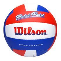 Bola de Vôlei Wilson Match Point Vermelha -