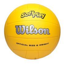 Bola de Vôlei Wilson Soft Play Amarela -