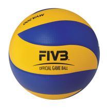 Bola De Voleibol Mikasa MVA200 Size 5 Azul E Amarelo 4bea94a83ea50