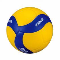 Bola de voleibol v200w amarela e azul mikasa -