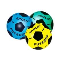 498621f425146 Bola Futebol Apolo Leve Colorida Com 6 Bolas - Apolo RV-088