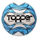 Bola Futebol Campo Oficial Topper Slick Azul -