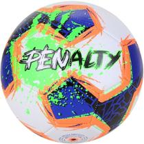 Bola Futebol de Campo Giz Branca Azul N4 Infantil - Penalty -