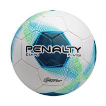 Bola Futebol de Campo Player Azul Verde Oficial Penalty -