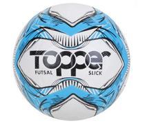 BOLA FUTEBOL FUTSAL TOPPER SLICK LI Cor Azul/ Preto - 5165 -