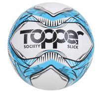 BOLA FUTEBOL SOCIETY TOPPER SLICK LI Cor Azul/ Preto - 5162 -