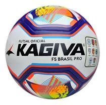 Bola Futsal Kagiva F5 Pro Brasil - Liga - Federação - Original - Oficial -