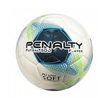 Bola Futsal Penalty Player 8 Branco/Azul -