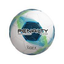 Bola futsal player bc c/c  branco, azul e verde - Penalty