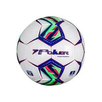 Bola Futsal Poker Explorer Azul/Verde/Vermelha -