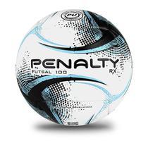 Bola futsal rx 100 xxi branco, preto, azul - Penalty